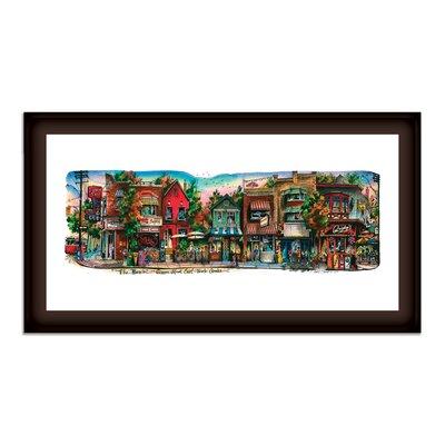 'Beaches #2' Framed Print RDBA4976 45515404