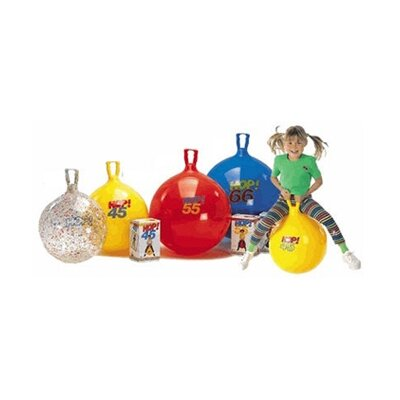 "Gymnic Hop Ball 17.72"" in Yellow at Sears.com"