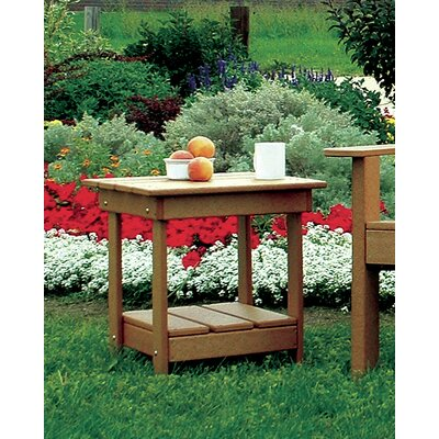 Adirondack Side Table Finish: Cedar