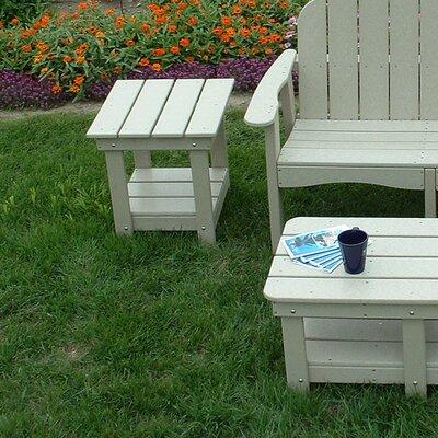 Adirondack Side Table Finish: Sand