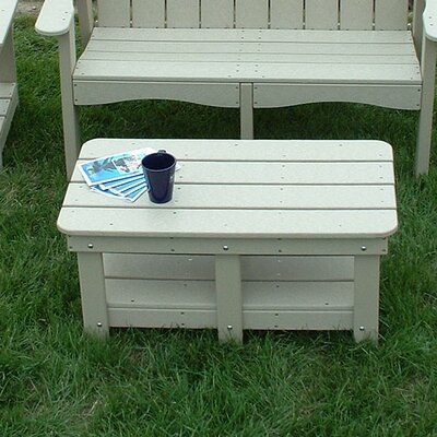 Adirondack Coffee Table Finish: White