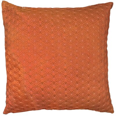 Geo Throw Pillow Color: Coral
