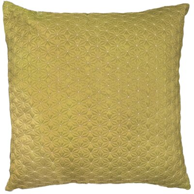 Geo Throw Pillow Color: Daffodil