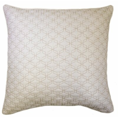 Geo Back Stitch Throw Pillow