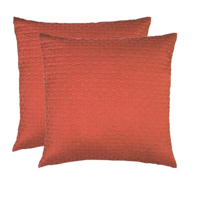 Throw Pillow Color: Auburn