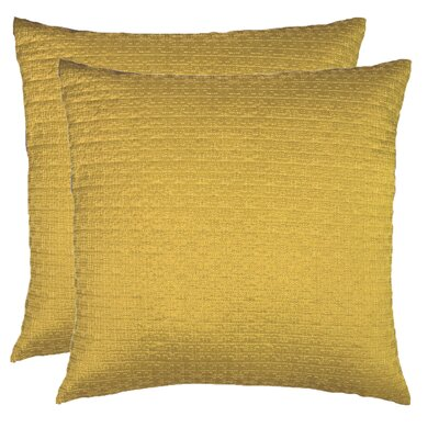 Throw Pillow Color: Marigold