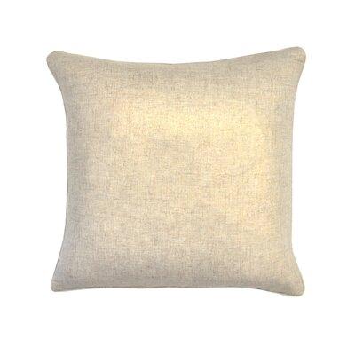 Amaker Metallic Throw Pillow Color: Gold