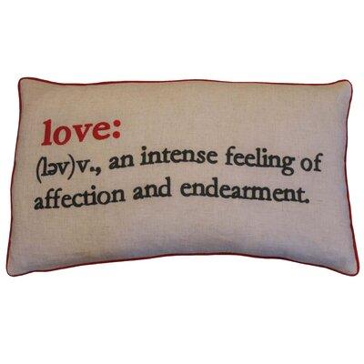 Boxwood Love Definition Lumbar Pillow