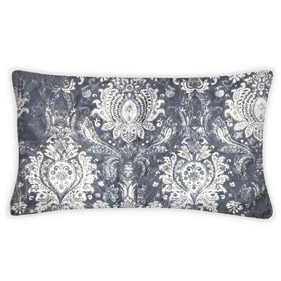 Allensby Damask Velvet Lumbar Pillow