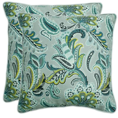 Nisbett Decorative 100% Cotton Throw Pillow