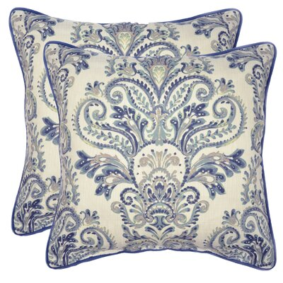 Elsner Decorative 100% Cotton Throw Pillow Color: Taupe