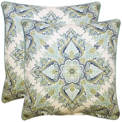 Donatien 100% Cotton Throw Pillow Color: Neutral