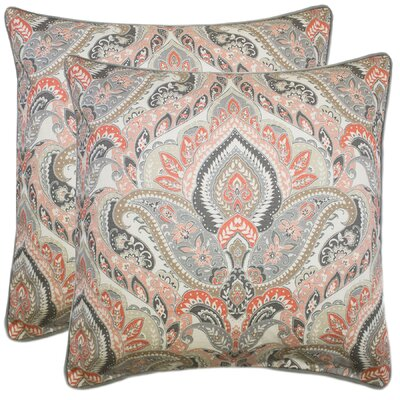 Noland 100% Cotton Throw Pillow Color: Blush
