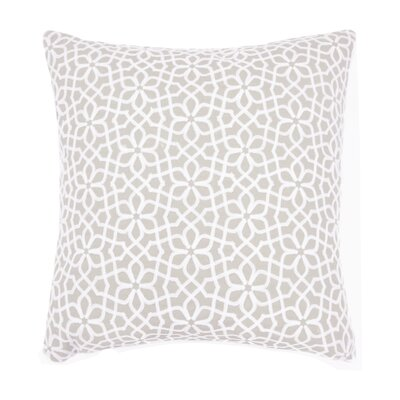 Nelida Embroidered Chain Stitch Throw Pillow Color: Natural
