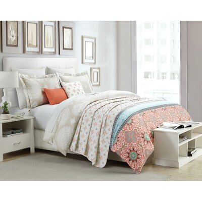 Graysville 3 Piece Reversible Duvet Set