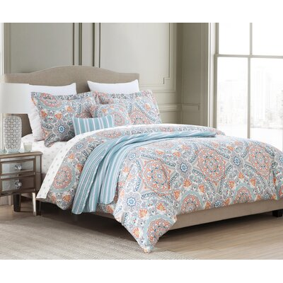 Monro 10 Piece Reversible Comforter Set