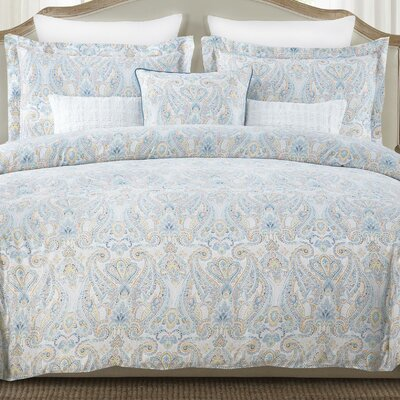 Demelo Cotton 6 Piece Reversible Comforter Set Size: Queen