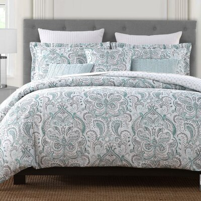 Englehart 6 Piece Reversible Comforter Set Size: King