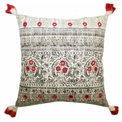 Lowe Cotton Throw Pillow Color: Neutral
