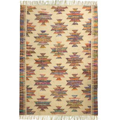 Shakti Multicolored Area Rug Rug Size: 4 x 6