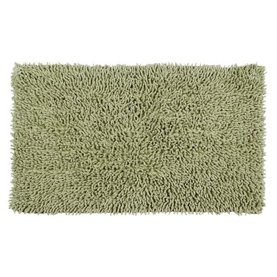 Completely Shag Bath Rug Size: 24 L x 17 W, Color: Sage