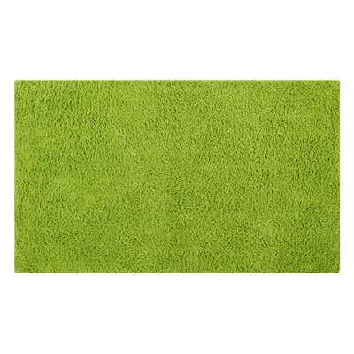 Plain Reversible Bath Rug Size: 34 L x 21 W, Color: Lime