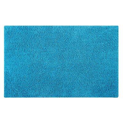 Plain Reversible Bath Rug Size: 34 L x 21 W, Color: Turquoise