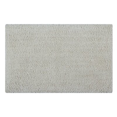 Plain Reversible Bath Rug Size: 24 L x 17 W, Color: Ivory