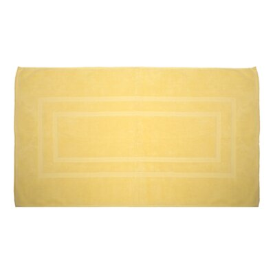 Plain Bath Rug Color: Sunshine Yellow