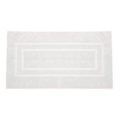 Plain Bath Rug Color: White