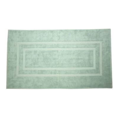 Plain Bath Rug Color: Aqua