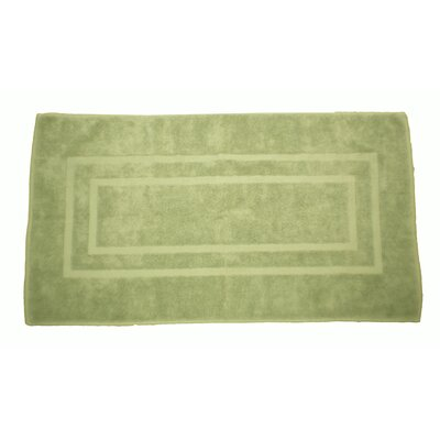 Plain Bath Rug Color: Celery Green