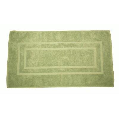 Plain Bath Rug Color: Celery Green