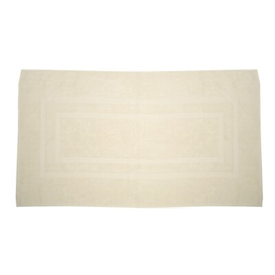 Plain Bath Rug Color: Ivory