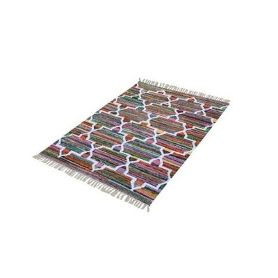 Mechkil Multicolored Area Rug Rug Size: 4 x 6