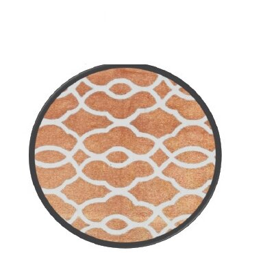Honeycomb Bronze Area Rug Rug Size: 4 x 6