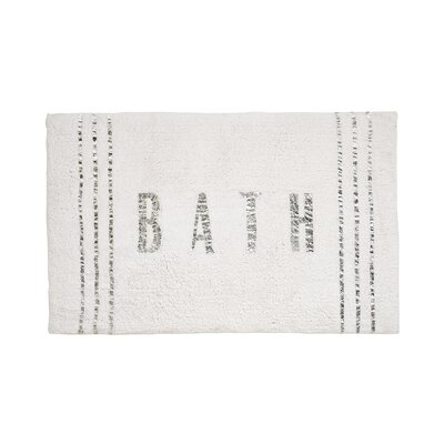 Label Bath Rug