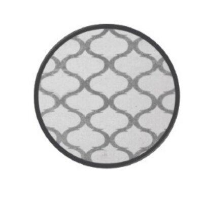 Coin Silver Area Rug Rug Size: 5 x 8