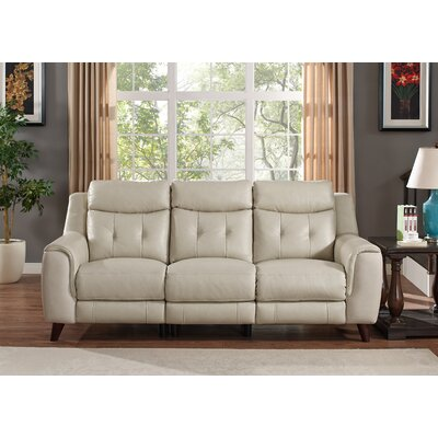 Paramount Leather Reclining Sofa