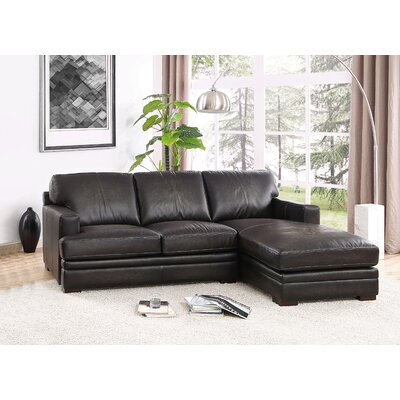 Salem Leather Sectional