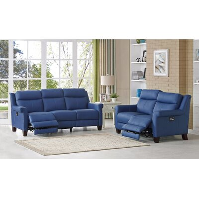 HYDELINEBYAMAX Dolce-SL Dolce Leather Sofa and Loveseat Set