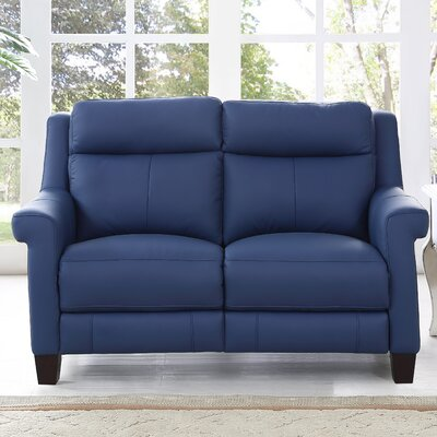 HYDELINEBYAMAX Dolce-L Dolce Leather Reclining Loveseat