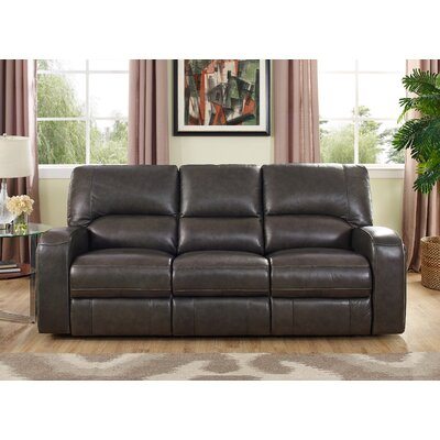Woodhull Leather Reclining Sofa
