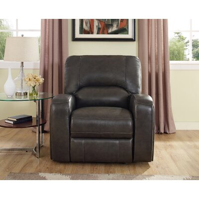 Woodhull Leather Recliner
