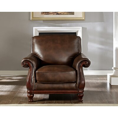 Autumn Top Grain Leather Armchair