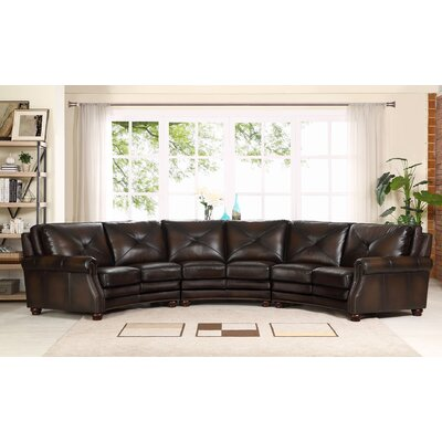 Beatris Leather Sectional