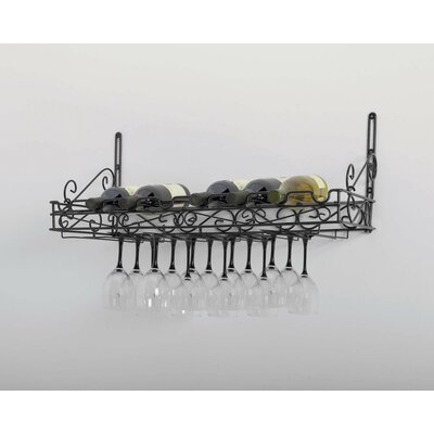 Shelly Wall Mounted Wine Glass Rack