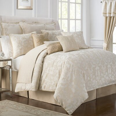 Britt 4 Piece Reversible Comforter Set Size: Queen
