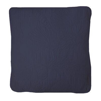 Ocean View Sham Color: Cadet Blue, Size: King