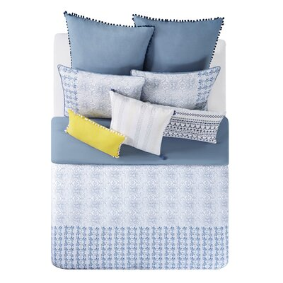 Indigo Comforter Set Size: Full/Queen